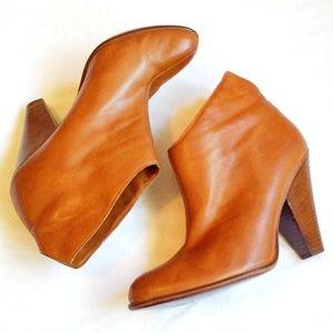 DMSX Donald J Pliner Ivy Ankle Boots Tan Size 8.5